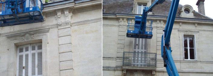 Ravalement de façade à Bordeaux