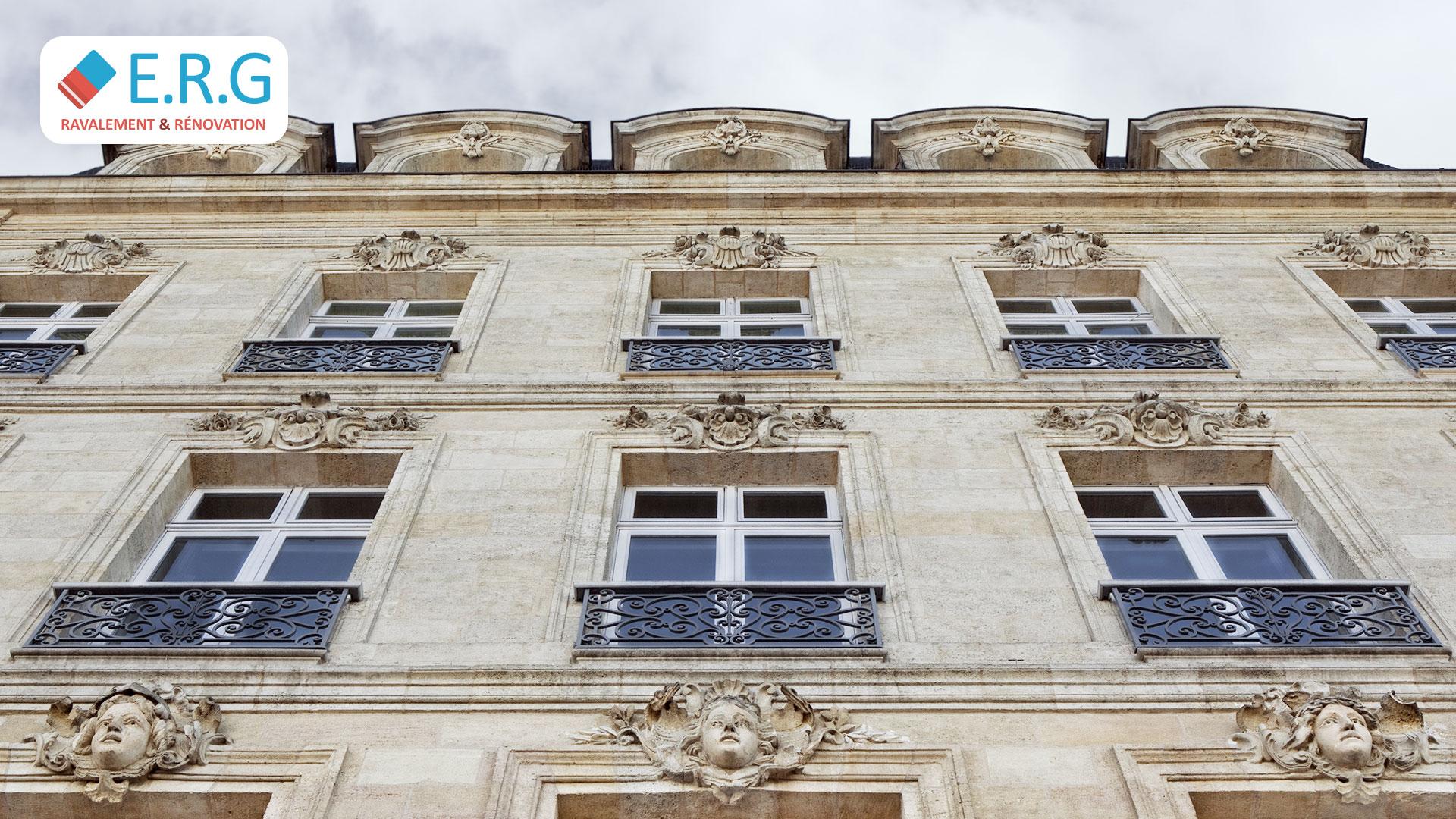 Ravalement de façade Bordeaux